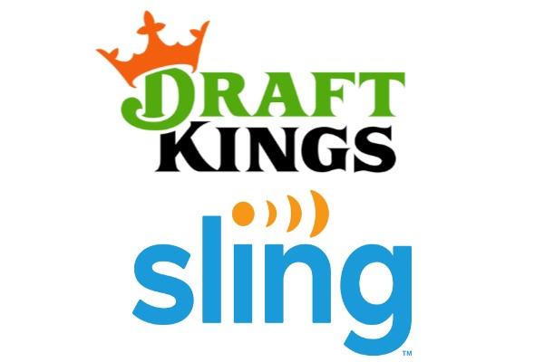 DraftKings & Sling logo