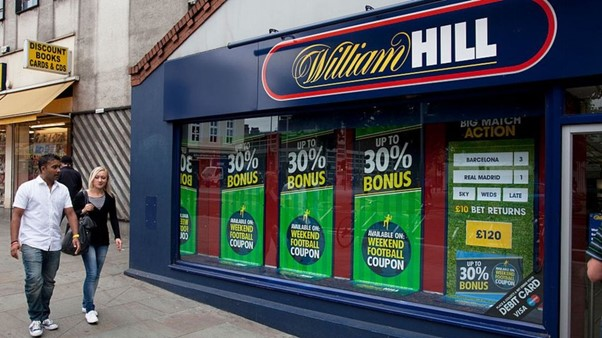 William Hill betting shop