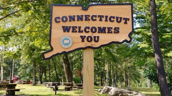 Connecticut sign
