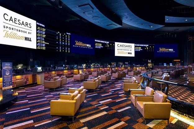 Caesar and william hill betting room